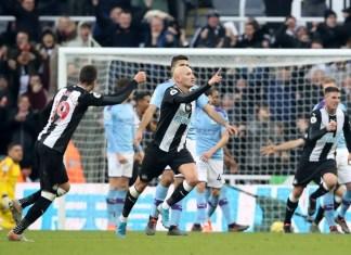Newcastle vs Man City Highlights