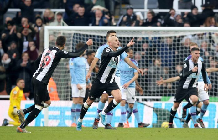 Newcastle vs Man City Highlights