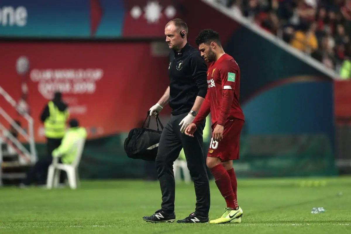 Jurgen Klopp provides latest update on Alex Oxlade-Chamberlain's injury scare