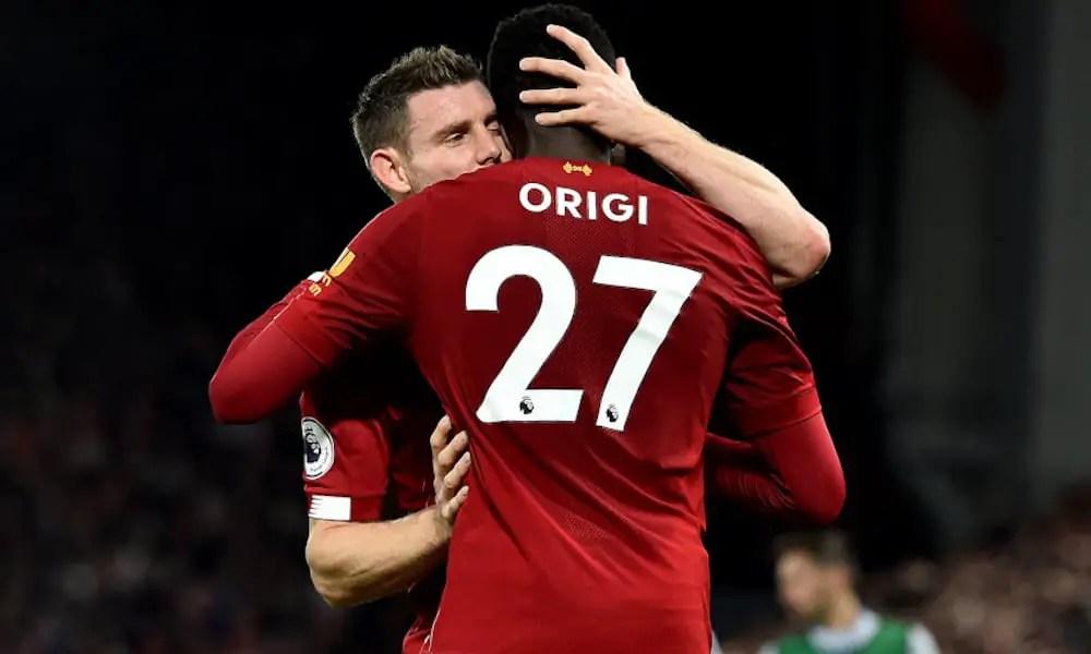 Milner and Origi