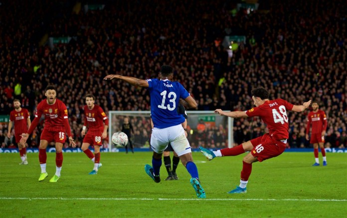 Curtis Jones Goal