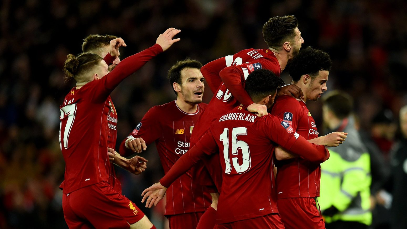 The best photos from Anfield as Liverpool knock Everton out of FA Cup
