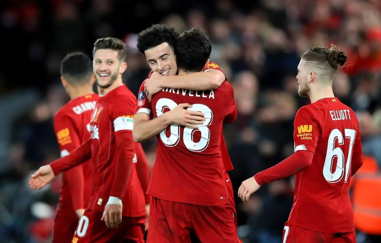 Liverpool 1-0 Everton – Highlights: Curtis Jones wonder-goal downs Everton (Video)