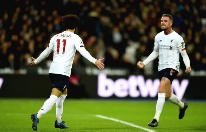 Salah Goal vs West Ham