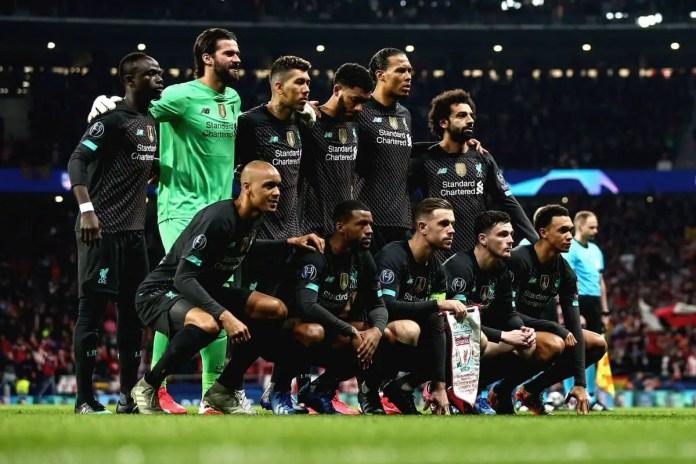 Liverpool XI vs Atletico
