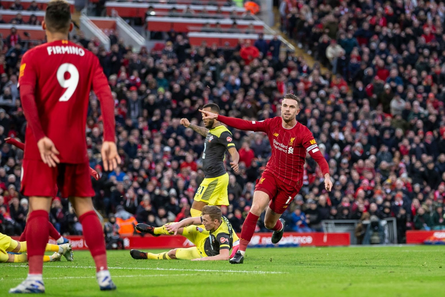 Liverpool 4-0 Southampton – Highlights and Goals (Video)