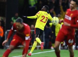 Watford 3-0 Liverpool Highlights