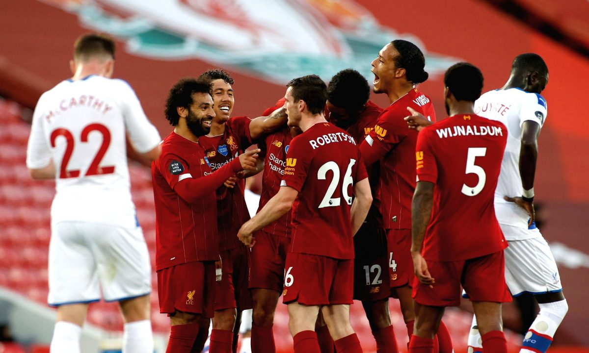 Liverpool 4-0 Crystal Palace – As it happened & reaction
