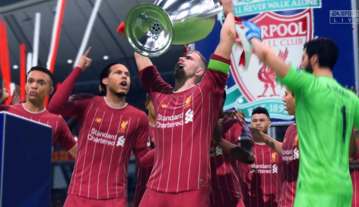 Liverpool could use FIFA 20 crowd noise during behind-closed-doors games at Anfield