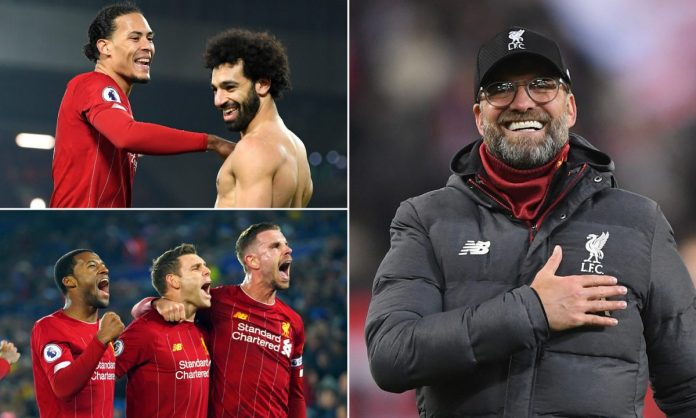 Liverpool - Premier League Winners 19-20