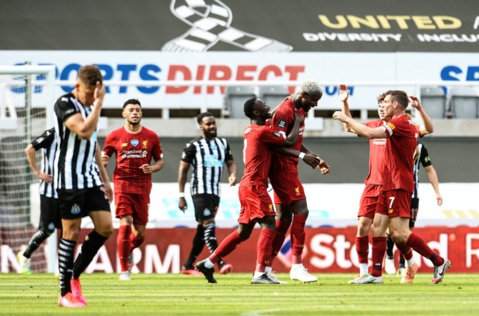 Divock Origi Celebration vs Newcastle