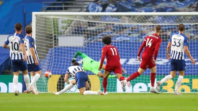 Jordan Henderson Goal vs Brighton
