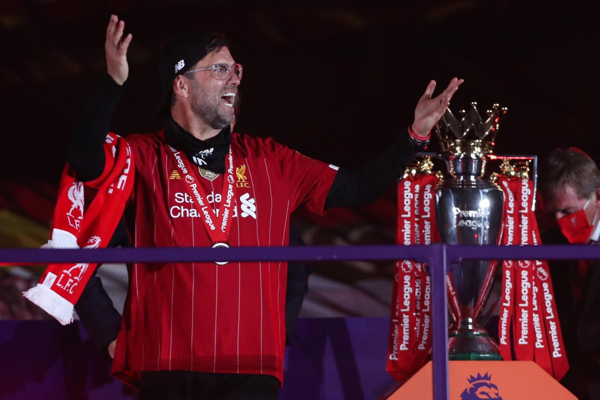 "Jurgen Klopp insists Liverpool ""will not stop"" after lifting Premier League title"