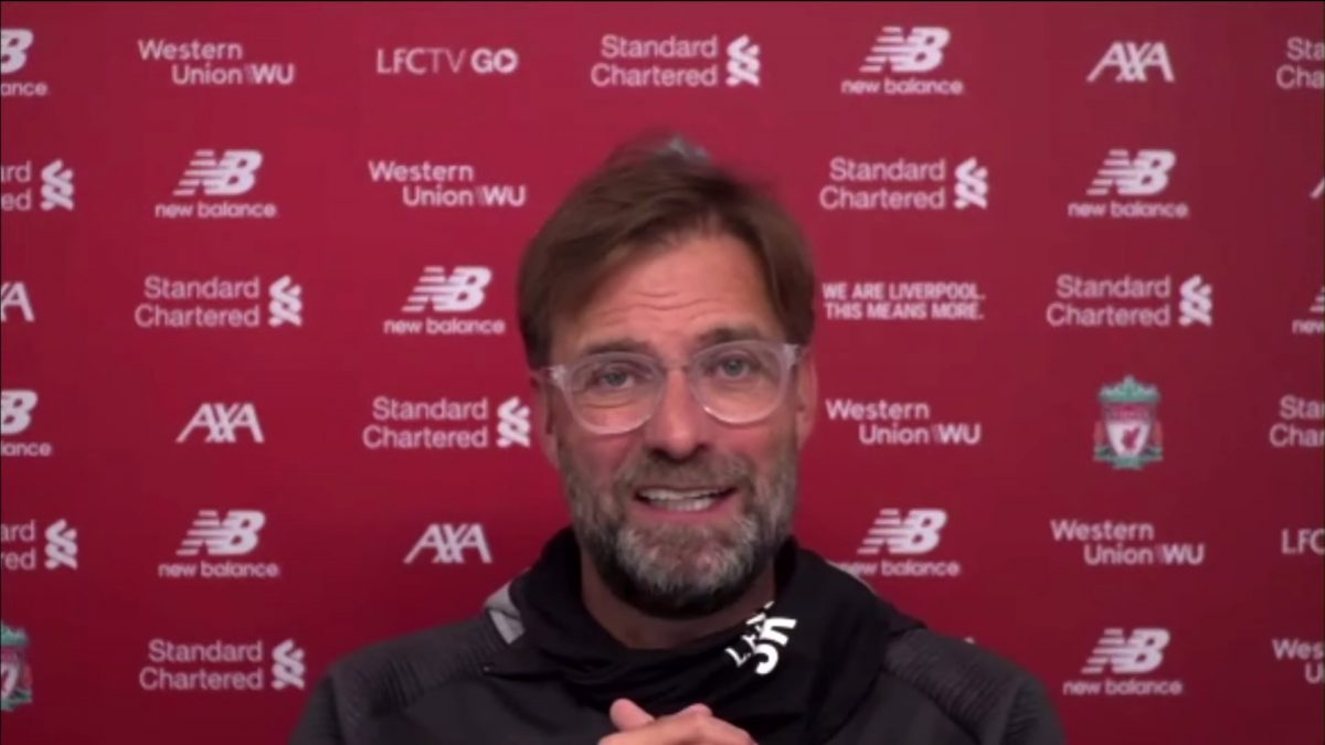 Watch: Jurgen Klopp's pre-match press conference – Brighton vs Liverpool