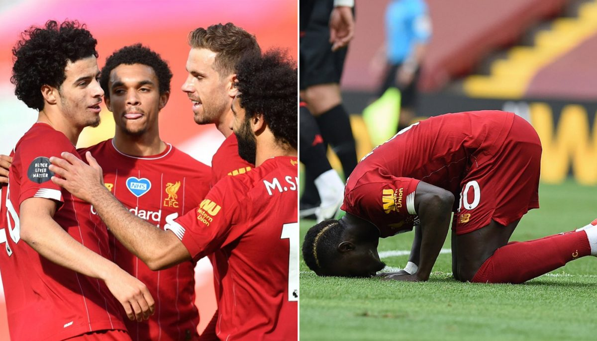 The best photos from Anfield as Mane & Jones keep flawless home record intact