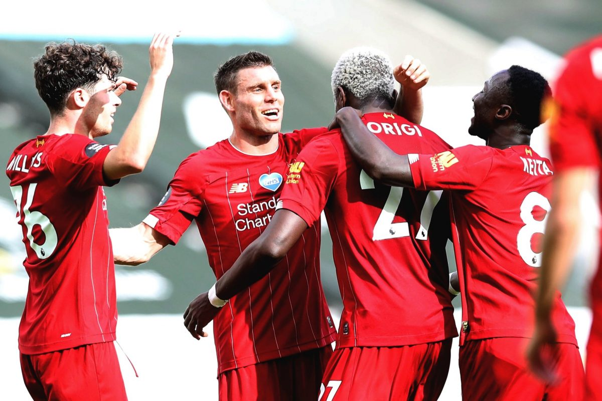 Watch: Newcastle 1-3Liverpool – Highlights and Goals (Video)