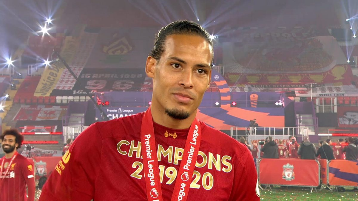 """Virgil van Dijk: Lifting the title with Liverpool is a """"dream come true"""""""