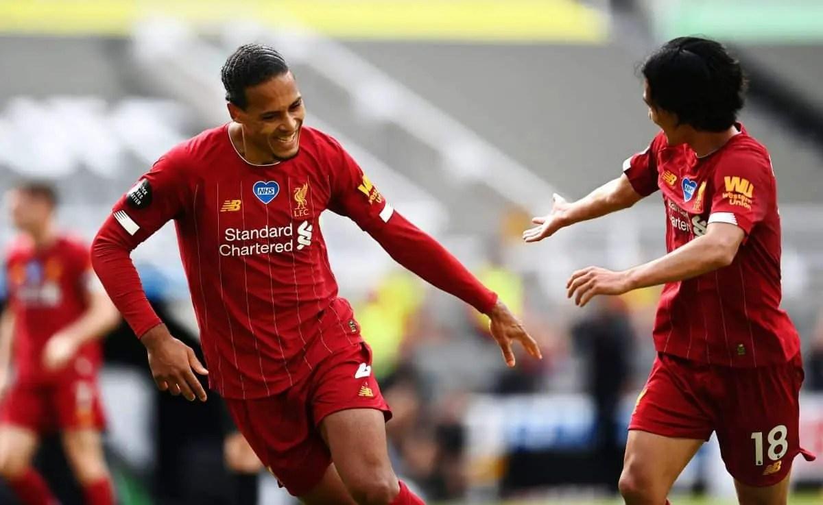 "Virgil van Dijk relishing ""nice challenge"" of retaining Premier League title next season"