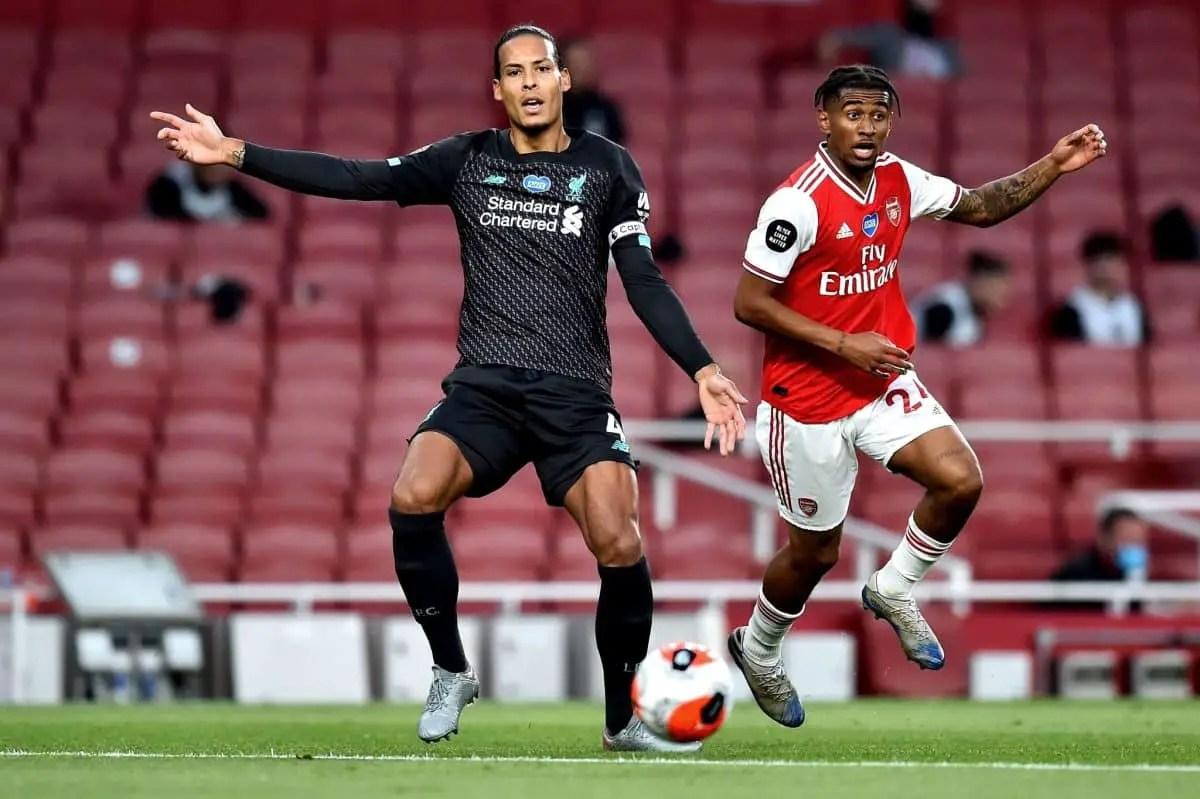 """I take full responsibility"" – Virgil van Dijk rues costly error vs Arsenal"