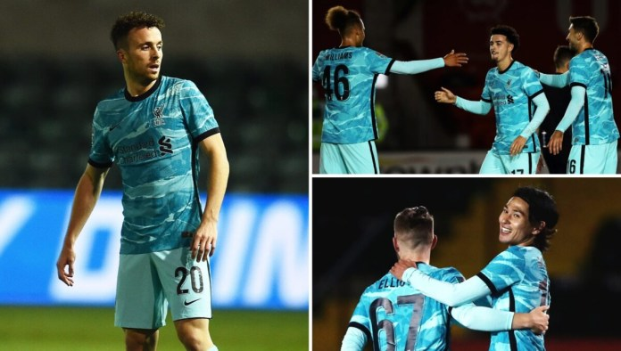 Lincoln vs Liverpool Photos