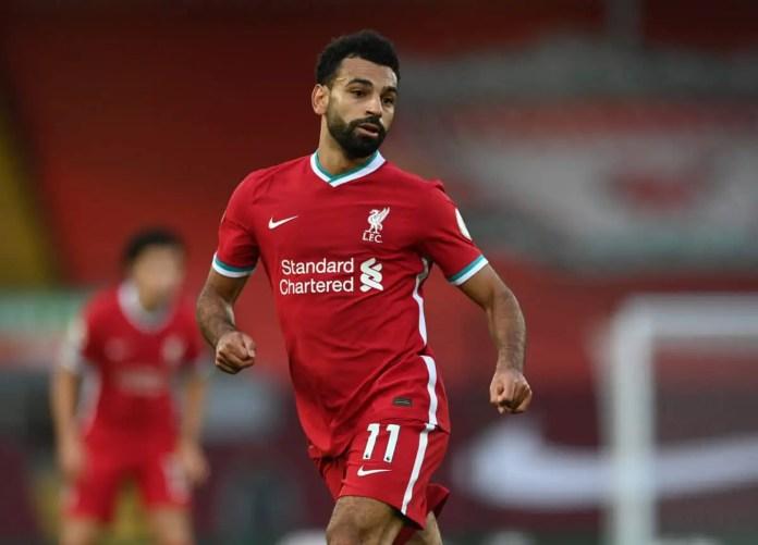 Salah - Liverpool vs Leeds