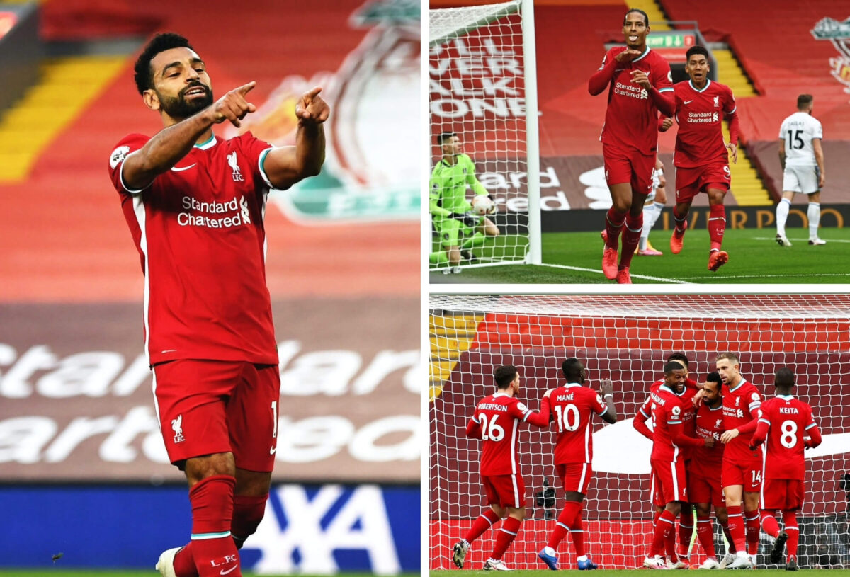In Photos: Mohamed Salah nets hat-trick as Liverpool edge Leeds on opening day