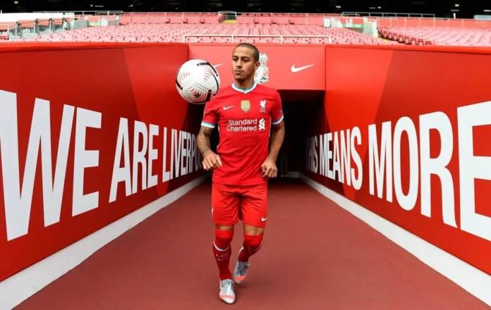 Thiago - Liverpool FC