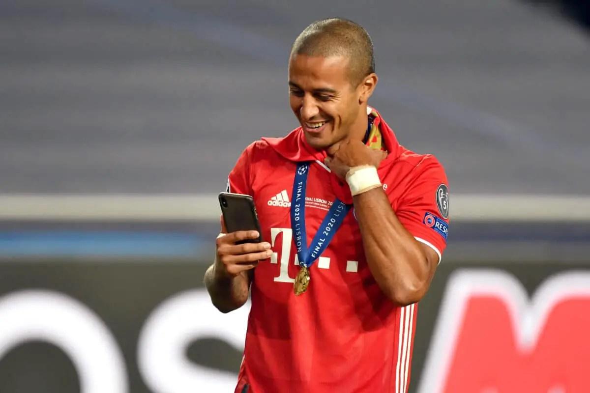 Liverpool target Thiago: I have never said I'm leaving Bayern