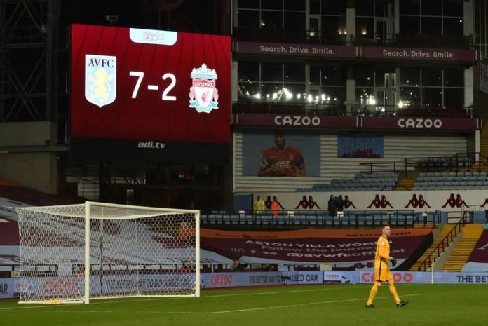 Adrian - Aston Villa vs Liverpool