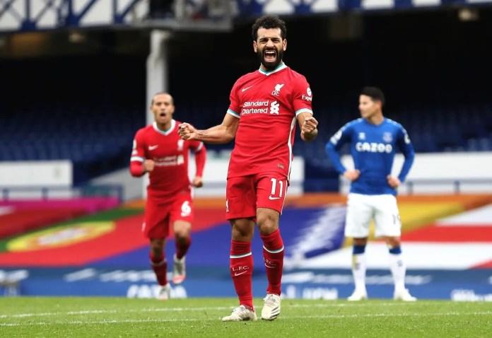 Mohamed Salah - Everton vs Liverpool