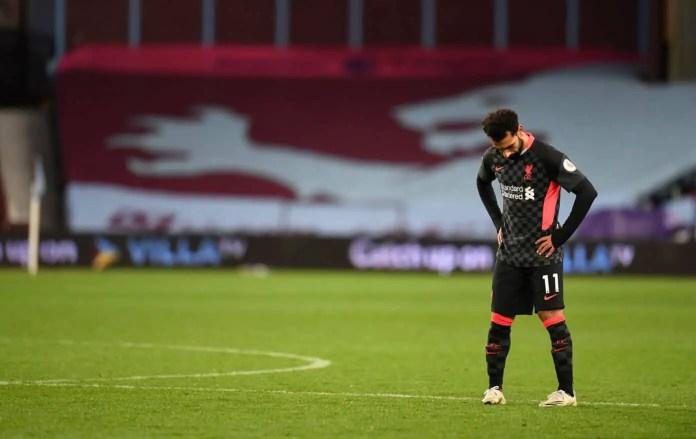 Salah - Aston Villa vs Liverpool