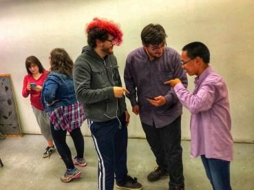 Creating scenes - Theatre skills