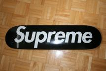 Supreme '07 Black Skateboard Deck Lfgss