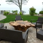 How To Turn A Tree Stump Into An Outdoor Table 2020 Diy Guide