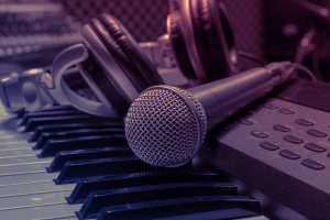microphone-background