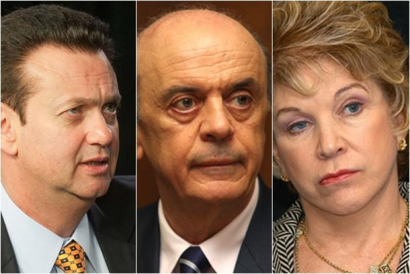STF arquiva pedido de investigação sobre Serra, Kassab e Marta
