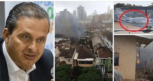 Justiça manda incinerar maconha encontrada em avião de Eduardo Campos