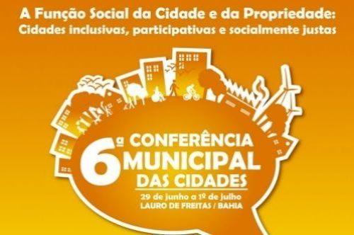 Sexta edição da Conferência das Cidades tem início nesta quarta-feira (29)