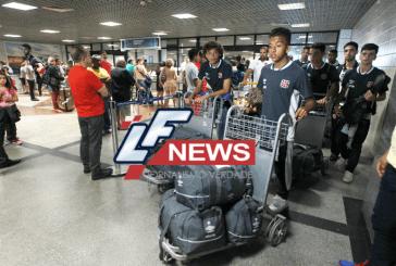 Equipes chegam à Bahia para a Copa 2 de Julho de Futebol em Lauro de Freitas