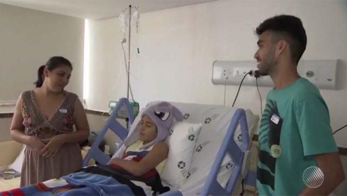 Garoto picado por cobra em trilha na Chapada recebe alta de hospital