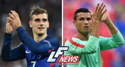 Portugal e França disputam hoje a final do Eurocopa 2016