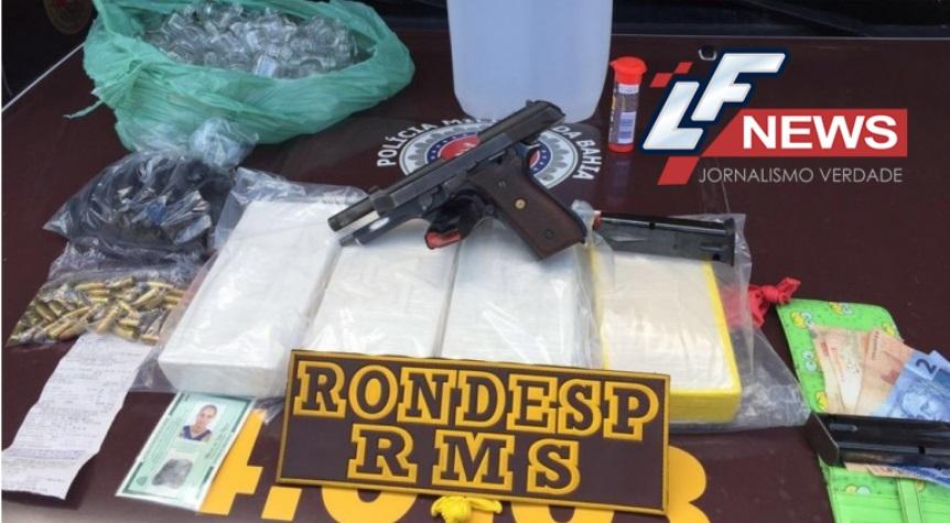Rondesp RMS intercepta carga de drogas oriundas de São Paulo