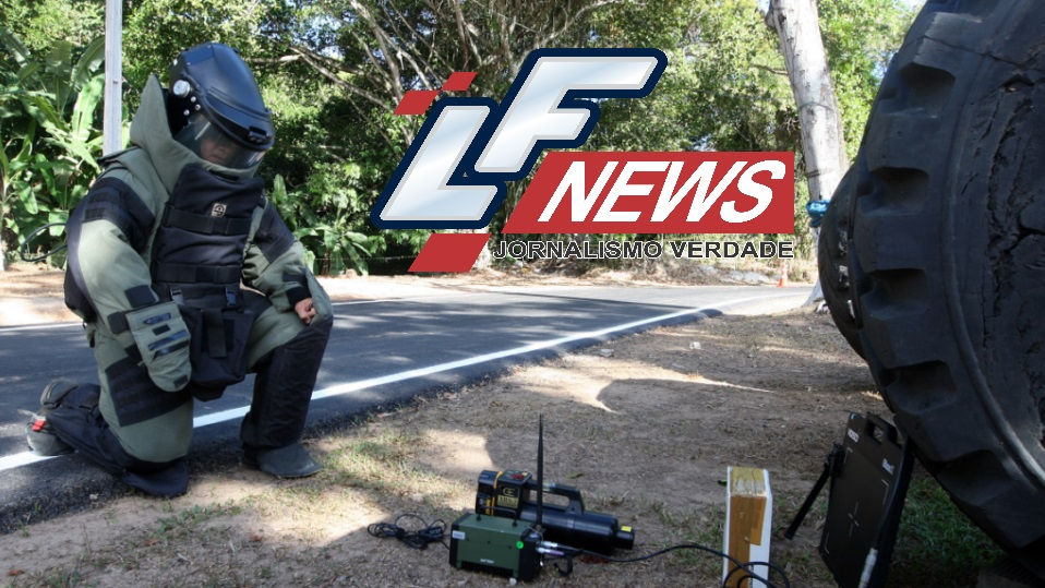 Bope faz simulado com explosivos em Lauro de Freitas