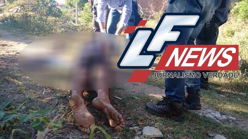 Corpo é encontrado com braços amarrados em terreno baldio em Lauro de Freitas