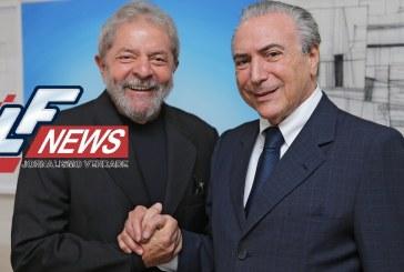 Lula reconhece acertos de Temer na política e na economia do Brasil