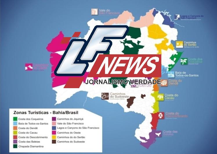 Novo mapa turístico reúne 117 municípios baianos