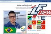 Facebook libera filtro para foto de perfil com tema das Olimpíadas Rio 2016