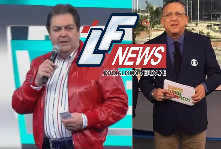 Faustão corneta uniforme da Globo: 'Roubaram dos carteiros'