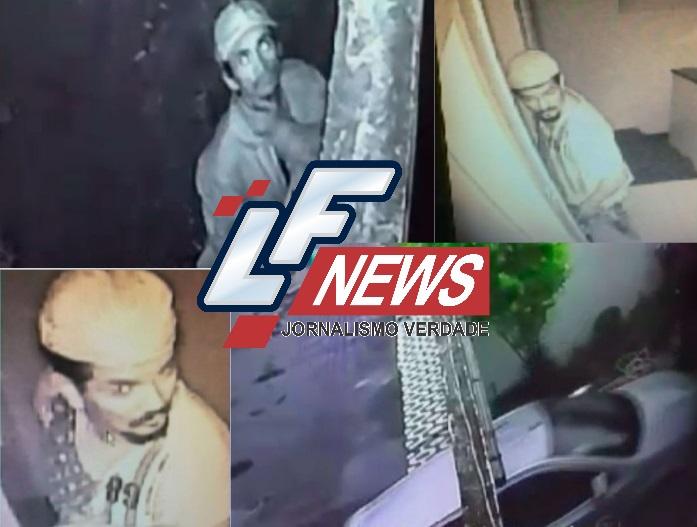 Ladrão cara de pau faz refeições após invadir e assaltar casas em Piatã