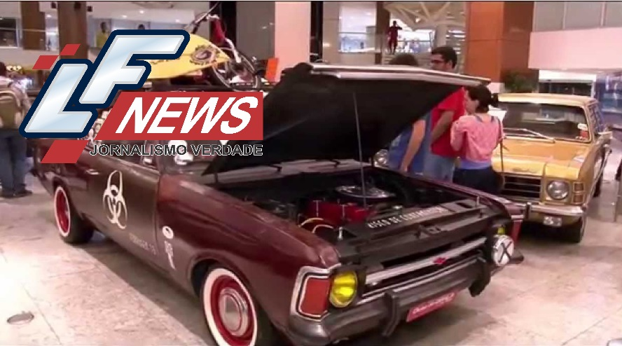 Mês dos Pais: Exposição de carros clássicos e miniaturas invade shopping